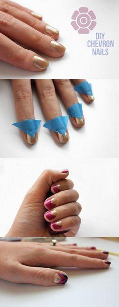 DIY Nails!  Super cute!!!
