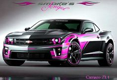 "My ""Smoke's Angel"" version of the Chevy Camaro ZL1 Tony Stewart Show Car Concept. ~ Springwolf"