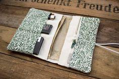 Cotton Linen, Cotton Fabric, Leave Pattern, Gray Label, Cigarette Case, Good Grips, Leather Material, Canvas Fabric, Pouch