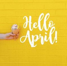 Welcome Helo April Quotes Pictures and Wallpaper collection in HD quality, can be printed according to the size you want. Days And Months, Months In A Year, April Images, April April, Monthly Quotes, Hello March, Welcome Spring, New Month, April Showers