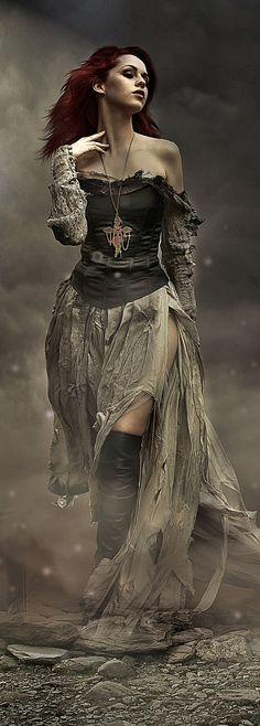 "Wind Witch: #Wind #Witch ~ ""Dust in the Wind,"" by Denise Worisch, at deviantART (cropped for detail)."