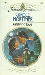 Undying Love by Carole Mortimer - book cover, description, publication history. Dog Training School, Dog Training Books, Used Books, Books To Read, My Books, Harlequin Romance Novels, Carole Mortimer, Undying Love, Mystery Books