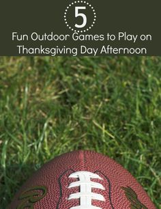5 Fun Outdoor Games to Play on Thanksgiving Day Afternoon