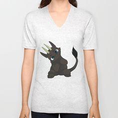 Chibi Dragon Unisex V-Neck by noreliablack V Neck T Shirt, Chibi, Unisex, Stuff To Buy, Tops, Women, Fashion, Moda, Fashion Styles