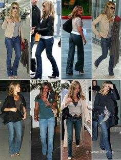 Rachel Green Style, Jeniffer Aniston, Casual Outfits, Fashion Outfits, Women's Fashion, Jennifer Aniston Style, Looks Jeans, White Shirt And Jeans, Natural Clothing