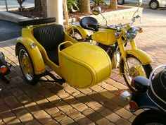 BMW with sidecar (not a URAL)