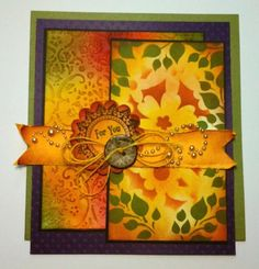Baroque with stencils by f.schles - Cards and Paper Crafts at Splitcoaststampers