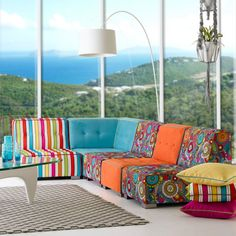 Warwick Fabrics : HOLIDAY ISLE COLLECTION HANGR