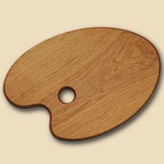 wooden cutting board prop...painter's palette design