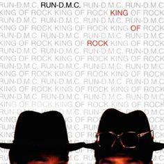 Run DMC, King of Rock (1985) - The 50 Best Hip-Hop Album Covers   Complex UK
