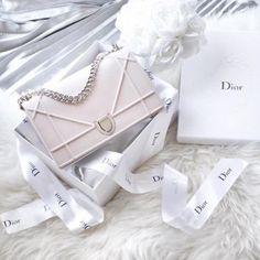 Modern Sisters - Dior Purse - Ideas of Dior Purse - Cute pink bag sisters sisters minimal Dior Purses, Hermes Handbags, Purses And Handbags, Dior Bags, Luxury Purses, Luxury Bags, Luxury Handbags, Designer Handbags, Designer Bags