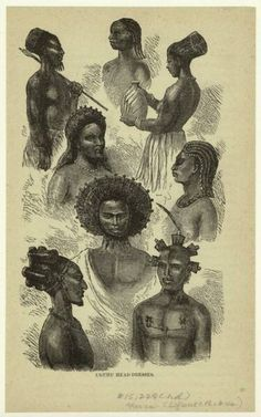 ancient african hair styles | natives of ugogo east central africa gogo african people aesthetic
