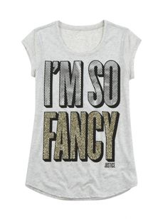 So Fancy Graphic Tee | Justice