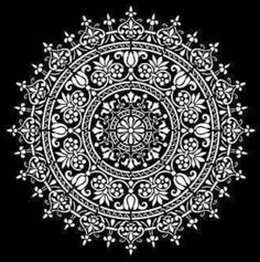 Stencil Painting, Painting Frames, Mandala Design, Mandala Art, Thrasher, Zen Doodle Patterns, Alpona Design, Chicano, Pavement Art