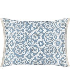 Discover the Designers Guild Melusine Waterblue Cushion at Amara Floral Cushions, Decorative Cushions, Cushions On Sofa, Blue And White Pillows, Blue Throw Pillows, Designers Guild, Luxury Sofa, Contemporary Home Decor, Luxury Home Decor