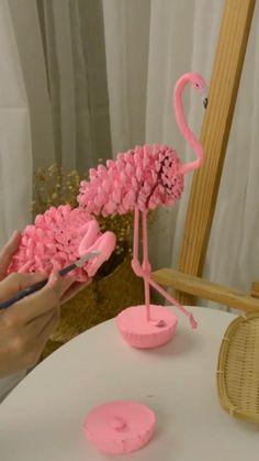 Diy Crafts For Home Decor, Diy Crafts Hacks, Diy Crafts For Gifts, Diy Arts And Crafts, Diy Crafts Videos, Creative Crafts, Clay Crafts, Fun Crafts, Crafts For Kids