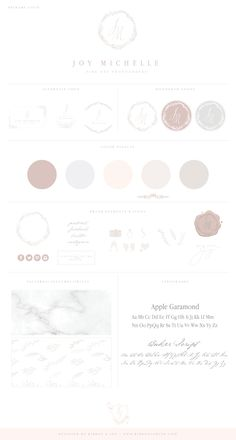 Brand Launch for Maryland Wedding Photographer Joy Michelle Business Card Maker, Unique Business Cards, Business Card Design, Photographer Branding, Photographer Wedding, Brand Fonts, Watercolor Logo, Brand Style Guide, Color Balance