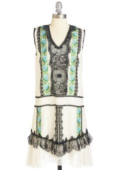 Anna Sui All Falls into Lace Dress, #ModCloth