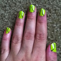 Easy and cute.....might need to try these out for upcoming tournament!