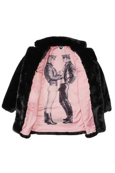 The Official Online Store for all things Tom of Finland – the most influential gay erotic artist of our time. Shop XXX, Apparel, Prints, Home, Vintage + more. Pink Faux Fur Coat, Toms, Tom Of Finland, High Fashion, Mens Fashion, Fashion Outfits, Six Feet Under, Textiles, Oversized Coat