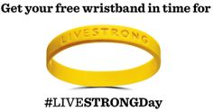 FREE Livestrong Wristband on http://hunt4freebies.com