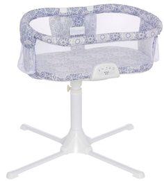 HALO Bassinest Swivel Sleeper Bassinet Luxe Infant Baby Crib 2017 Blue Medallion
