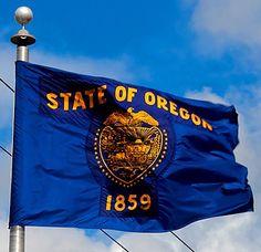 @ Oregon state flag