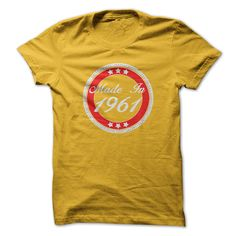 nice  Made in 1961 [ Discount Check more at http://bustedtees.top/age-t-shirts/cheapest-made-in-1961-discount.html