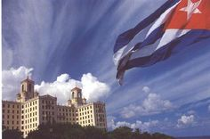 Cuban flag and Hotel Nacional - Havana.  Loved this place, this city and this country.  Looking forward to visiting it again.