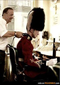 La verdad sobre la Guardia Real de Londres.