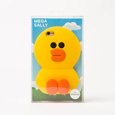 Naver Line Friends Store Official Goods MegaSally Silicon Phone Case for iPhone6