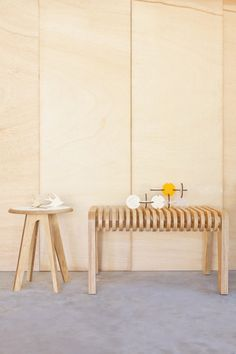 Foreply's furniture is both sculptural and supremely practical, via WeeBirdy.com.