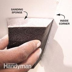 Drywall Sanding Tips and Techniques Home Improvement Loans, Home Improvement Projects, Sanding Tips, Modeling Tips, Home Repairs, Basement Remodeling, Solar Panels, A Table, The Help