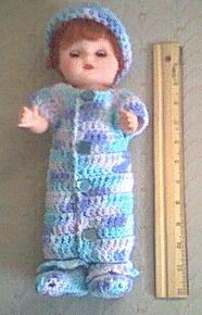 Preemie button down gown