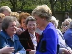On April 24th in 1990 Princess Diana carried out a busy day of engagements during a visit to Loughborough in the Charnwood borough of Leicestershire.