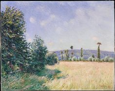 Alfred Sisley (British, 1839–1899). Sahurs Meadows in Morning Sun, 1894. The Metropolitan Museum of Art, New York. Gift of Janice H. Levin, 1991 (1991.277.3)