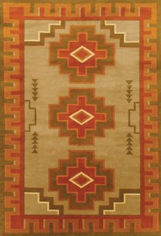 LW30J, khaki/olive – Southwestern rugs, Luxury Lodge comes to life in this imaginative collection. Traditions of the past meet modern needs for quality, beauty and comfort in these unique and timeless designs inspired by Native American motifs from the American Southwest. Soft pile weave replaces the traditional flat weave of typical Navajo-inspired carpets, resulting in luxuriously soft, superior quality hand-woven rugs.