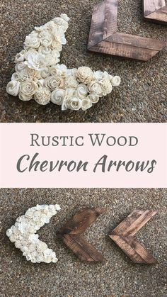Love these arrows! Super cute for any farmhouse decor, even for a nursery. Our set of 3 wood arrows are the perfect decor piece for your walls to give your home a rustic feel. You will receive 3 wood arrows with one being covered in sola wood flowers. Handmade Home Decor, Diy Home Decor, Kid Decor, Wood Home Decor, Etsy Handmade, Rustic Decor, Farmhouse Decor, Country Decor, Rustic Wood