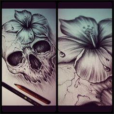 Skull Ink Designs by Edward Miller Fucking awesome LOVE THIS!!! would be awesome as a tattoo