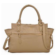 Stylish Apricot Handbag with Zipper Pockets Zipper, Stylish, Womens Fashion, Bags, Pockets, Handbags, Zippers, Women's Fashion, Woman Fashion