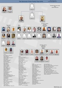 Vito Genovese Family Tree | Genovese family chart 150x150 Mafia Family Charts and Leadership 2011
