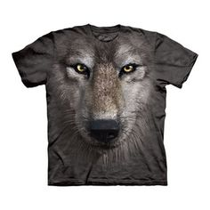 I've been a fan of Mountain Tees or many years. Love the new animal face series! Wolf Face Tee Adult now featured on Fab.