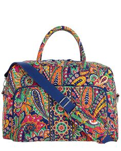 Vera Bradley Venetian Paisley Weekender 18.5in Travel Bag is on Rue. Shop it now.