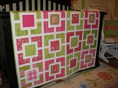I love the colors in this quilt!