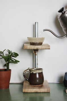 DIY Pour Coffee Stand - need to make this asap!
