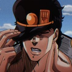 Jotaro Kujo Icons, Icon Jojos Bizarre Adventure Jotaro, Jojo's Bizarre Adventure Anime, Jojo Bizzare Adventure, Gs 1200 Adventure, Adventure Time, Digimon Adventure, Fiat Strada Adventure, Cute Profile Pictures, Profile Pics