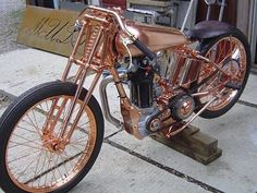 um yes, amazingness... a rose gold motorcycle would be grand!