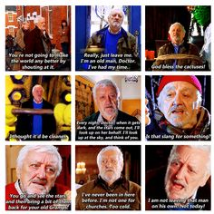 Wilfred Mott. The greatest character in Doctor Who ever!!!