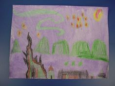 Mrs. Knight's Smartest Artists: VIP: Very Important Painting - Van Gogh's Starry Night