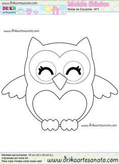 Free Felt Animal Templates Patterns Pdf Printable Owl